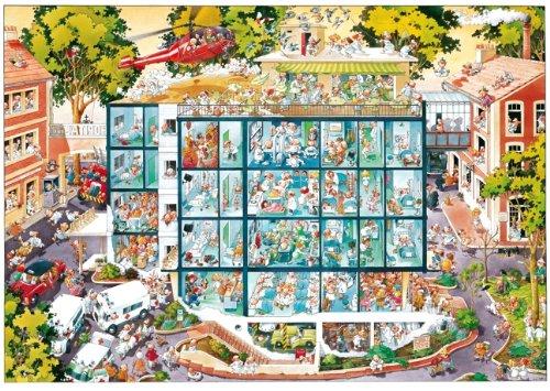 Heye 25784 - Dreieckspuzzles 2000 Teile Emergency Room, Jean-Jacques Loup hier kaufen