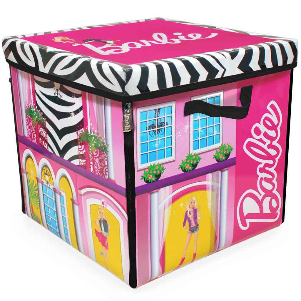Neat-Oh! Barbie ZipBin Dream House Toybox & Playmat