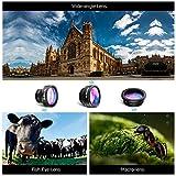 VicTsing-3-in-1-Clip-On-Fisheye-Fischauge-Objektiv-Kamera-Adapter-180-Grad-Fisheye-Objektiv-065X-Weitwinkelobjektiv-10X-Makroobjektiv