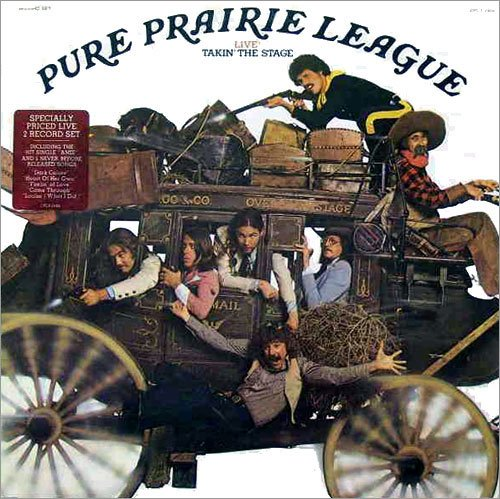 PURE PRAIRIE LEAGUE - Live! Takin