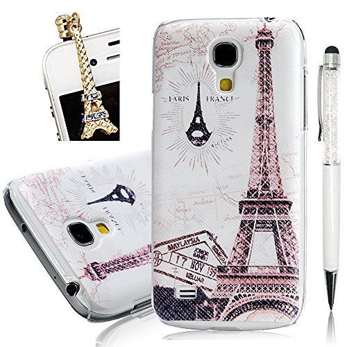 [(Not for S4)S4 Mini Case,Galaxy S4 Mini Case - YOKIRIN Print Painted Eiffel Tower PC Case Hard Cover for Samsung Galaxy S4 Mini I9190(Package Includes: One Phone Cases, One Dust Plug, One Stylus] (Top Diy Halloween Costumes 2016)