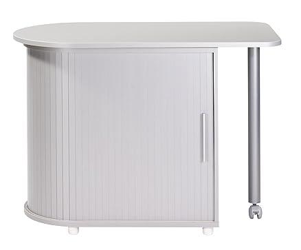 Simmob COOL100AL-Mobile da cucina in legno, in alluminio, 55 x 105 x 74,7 cm