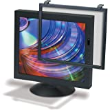 3M Black Framed Anti-Glare Filter for Standard LCD/CRT Desktop Monitor fits 17 to 18 Inch LCDs and 17 to 18 Inch CRTs