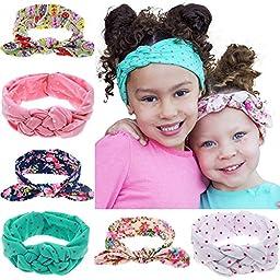Visokar® Adorable Baby\'s Headbands Girl\'s Hair Bows Newborn Headbands (6 pack headbands)
