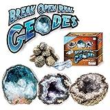 Break Open Real Geodes Science Kit - 6 Geodes