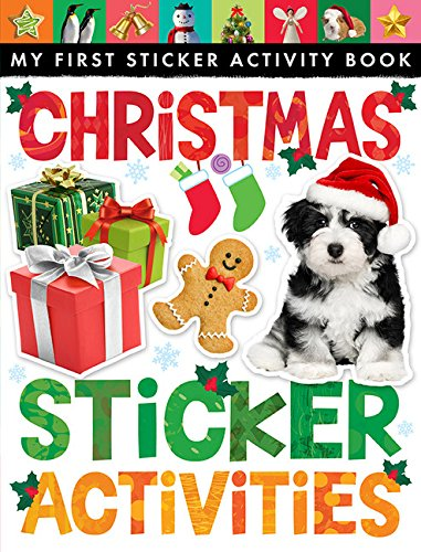 USED (GD) Christmas Sticker Activities (My First Sticker Activity)