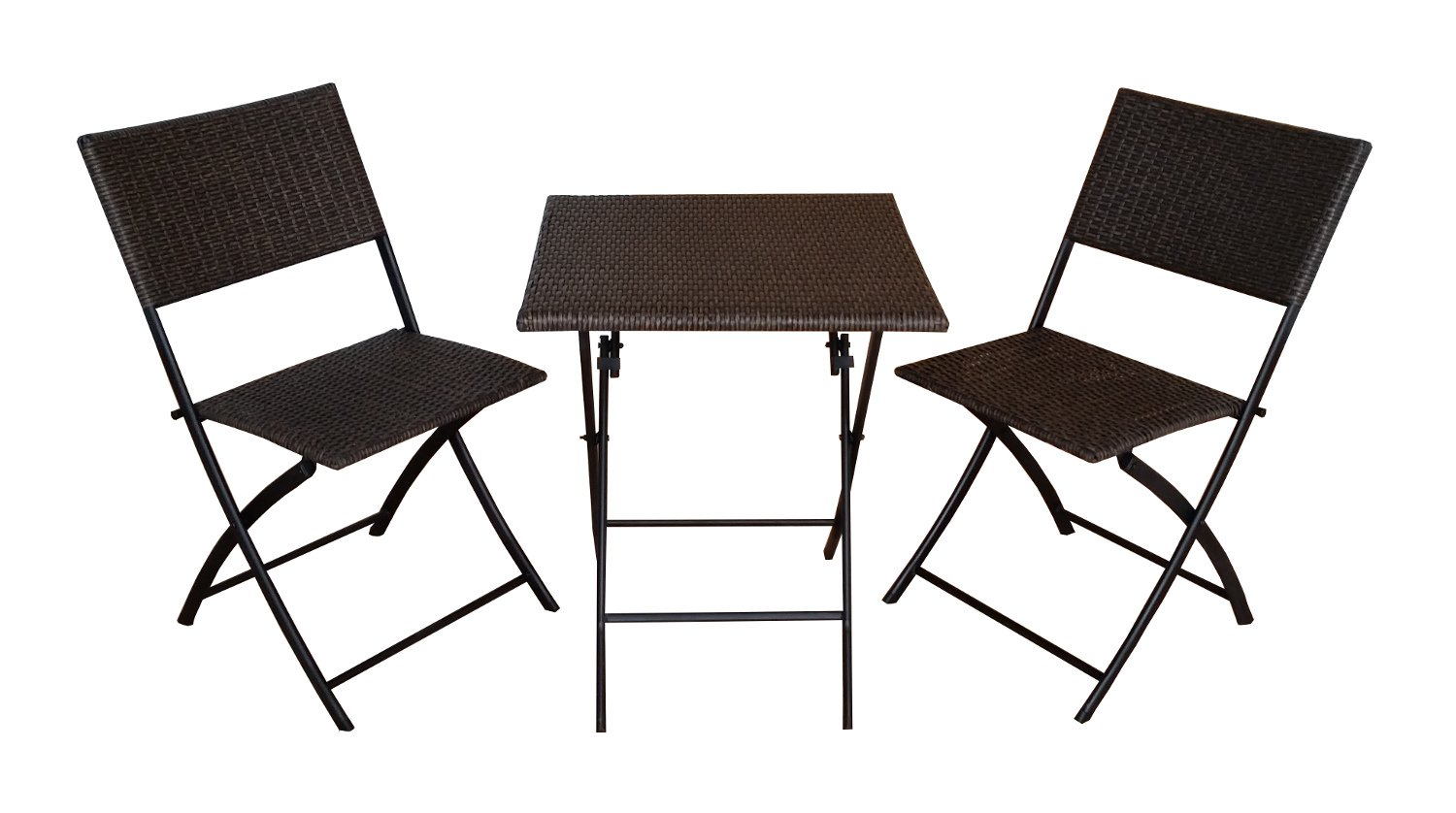 3tlg poly rattan gartenm bel set bistro set gm3pra kaufen. Black Bedroom Furniture Sets. Home Design Ideas