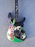 RGM125 Metallica Kirk Hammett Dracula Miniature Guitar Mini Guitar Rock Guitar Miniatures Metallica James Hatfield Lars Ulrich Kirk Hammett Black Label Society The Trujillo Trio Metallica Trough The Never Beyond Magnetic