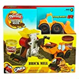 Play-Doh Diggin' Rigs Tonka Brick Mill Play Set PhillipThe Loader Truck Age 3+
