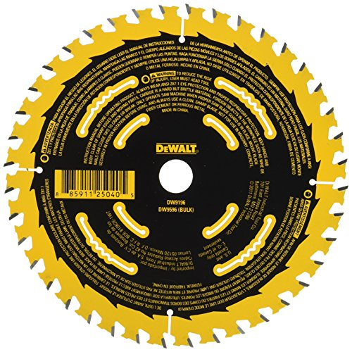 Dewalt Dw9196 6 1 2 Inch 40t Precision Framing Saw Blade
