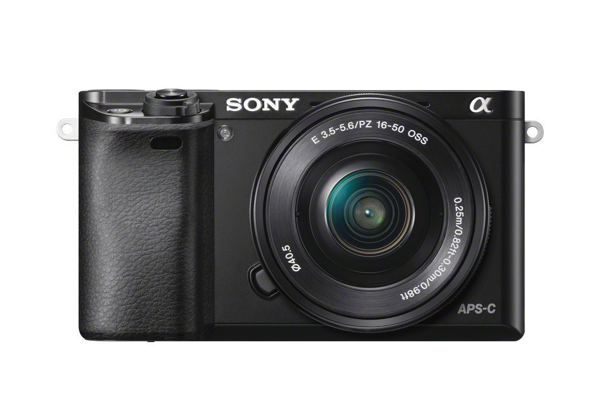 Sony ILCE6000L/B ILCE6000LB ILCE-6000LB Alpha A6000 Mirrorless Digital Camera with 16-50mm Lens (Black) + Sony E 55-210mm F4.5-6.3 Lens for Sony E ...