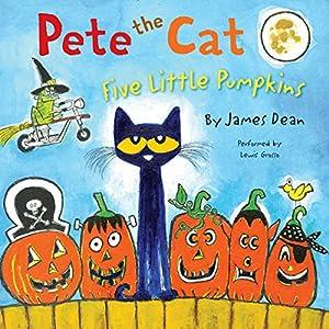 Pete the Cat: Five Little Pumpkins Audiobook