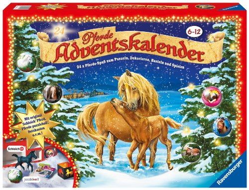 ravensburger 11698 pferde adventskalender 2011 preisvergleich special g nstig kaufen bei. Black Bedroom Furniture Sets. Home Design Ideas