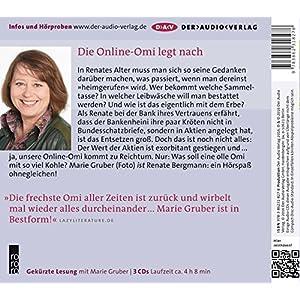 Wer erbt, muss auch gießen. Die Online-Omi teilt auf: Lesung mit Marie Gruber (3 CDs)