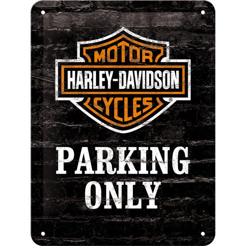 nostalgic-art-26117-harley-davidson-parking-only-motorcycle-small-metal-sign-15-x-20-cm