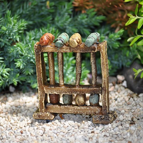Miniature Fairy Garden Vintage Croquet Set