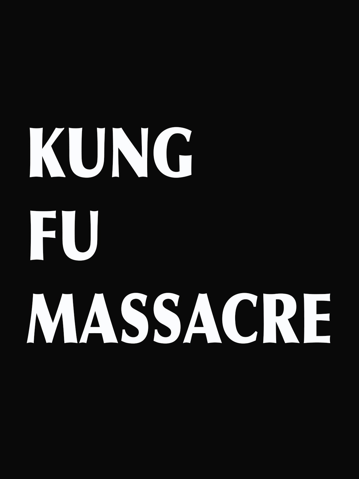 Kung Fu Massacre on Amazon Prime Video UK