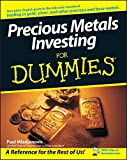 img - for Precious Metals Investing For Dummies book / textbook / text book