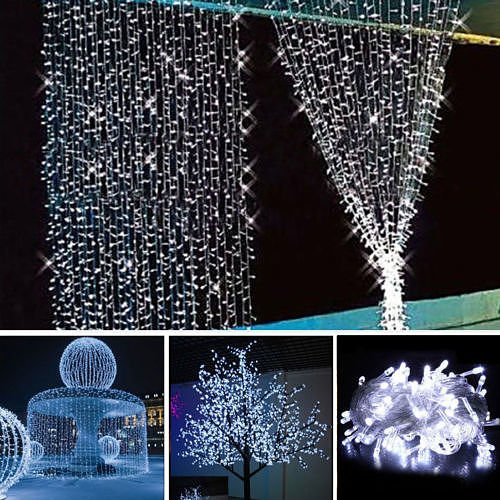 10M 100LED Christmas Wedding Xmas Party Decor Outdoor Fairy String Light Lamp