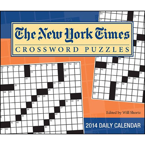 The New York Times Crossword Puzzles - 2014 Day-to-Day Calendar
