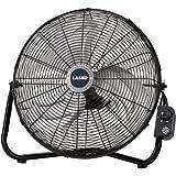 Lasko 2264QM 20-Inch Max Performance High Velocity Floor/Wall mount Fan, Black