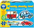 Orchard Toys - Puzzle - Voitures Ready, Steady, Tow!