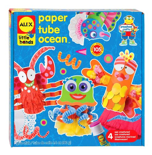 Alex® Toys - Early Learning Paper Tube Ocean -Little Hands 1418