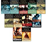 Simon Scarrow Collection 11 Books Set. (The Eagle's Prophecy, The Eagle in theSand, The Eagle and theWolves, The Eagle's Prey, The Gladiator, Centurion, When the EagleHunts, The Eagle'sConquest,Under theEagle, the legion and Praetorian)(Simon Scarrow)
