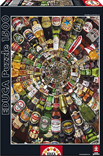 Educa: Beer Tunnel Puzzle 1500 piece - 1