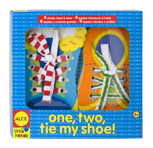 ALEX® Toys - Early Learning 1, 2 Tie My Shoe