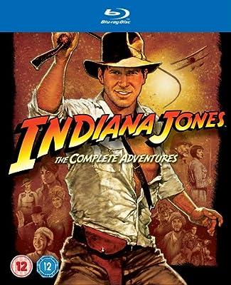 Indiana Jones: The Complete Adventures [Blu-ray] [1981] [Region Free]
