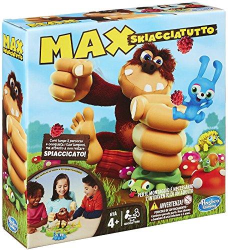 Hasbro - Max Skiacciatutto Gioco da Tavolo