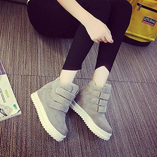 GGH Signore lavoro confortevole slittamento sui fannulloni delle donne scarpe casual Click the Gray,38