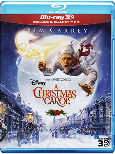 A Christmas Carol (2D+3D) [3D Blu-ray] [IT Import]