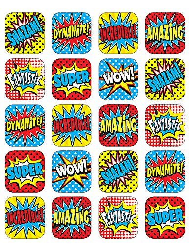 Teacher Created Resources Superhero Stickers (5570)