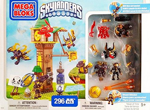 Mega Bloks Skylanders Tower of Time Building Set with Legendary Figures (95356)