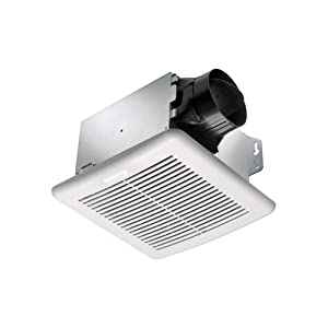 delta breezgreenbuilder gbr50 50 cfm exhaust bath fan review