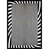 Old Glory Optical Art Checkers Tapestry Home Décor