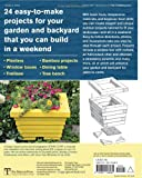 Outdoor Wood Projects: 24 Projects You Can Build in a Weekend