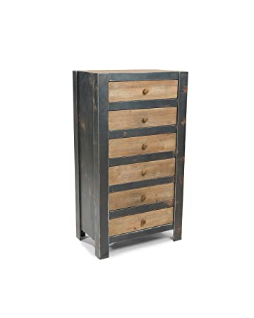 Mod Home Collection 26 by 47-Inch Bolt, 6 Drawer Dresser