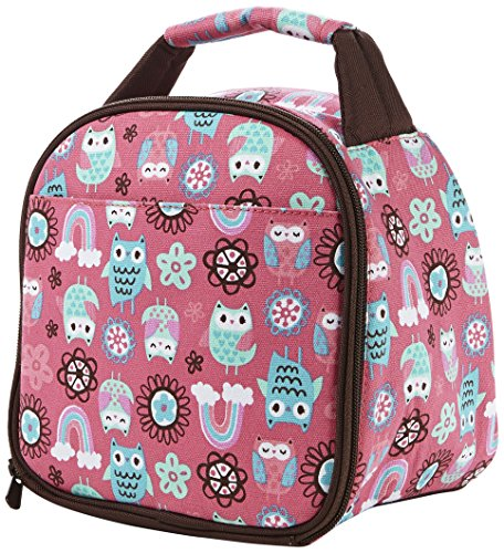 Fit & Fresh Kids Insulated Gabby Lunch Bag, Pink (Kids Lunch Boxes compare prices)