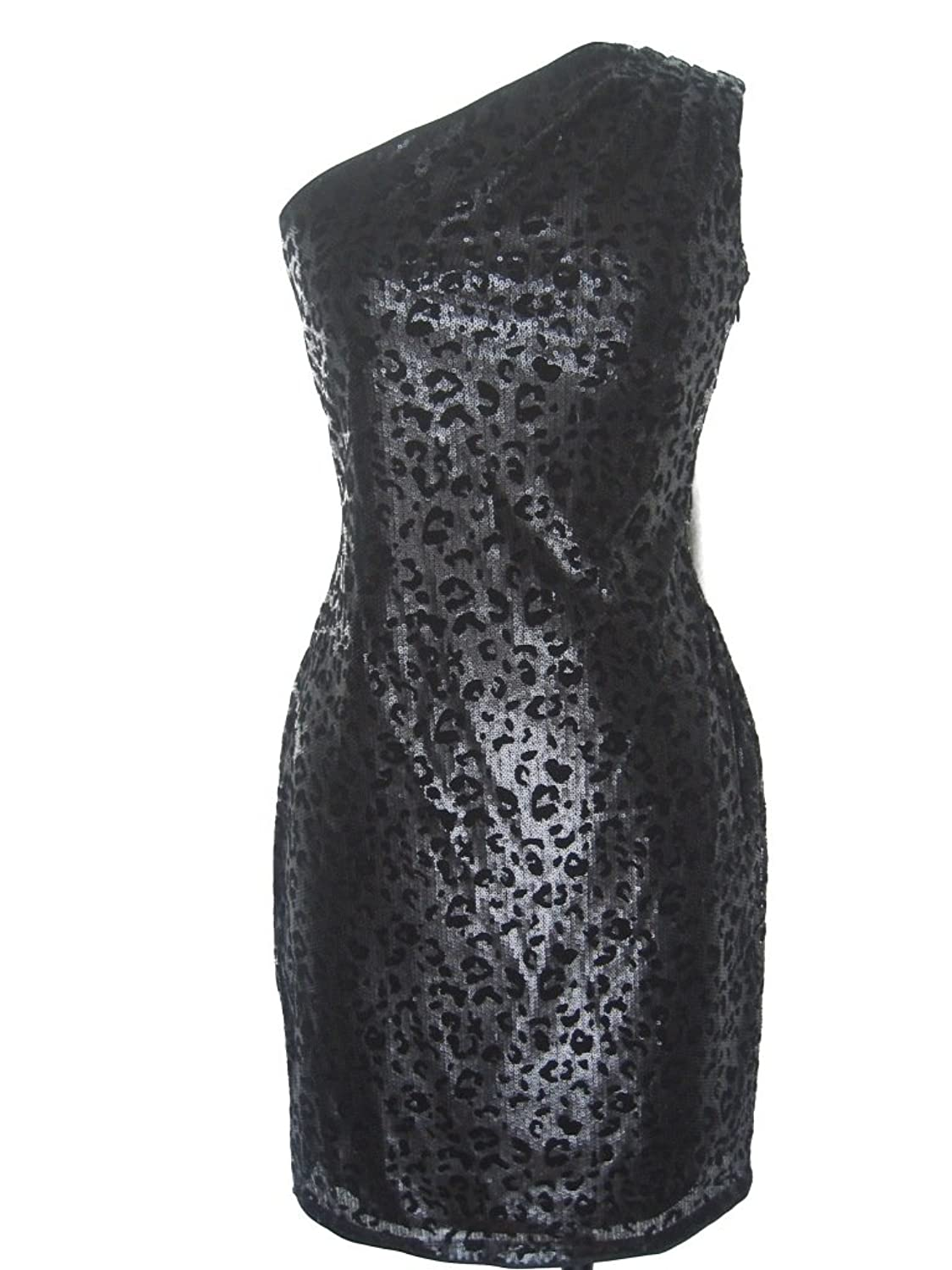 Miss Sixty Women's Leopard Pattern Sequined Sheath Dress блуза miss sixty xj7531 fe9758 l0000h a00120