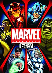 Marvel Animation: 6 Film Set