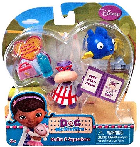 Disney Doc McStuffins Action Figure 2-Pack Hallie & Squeakers - 1