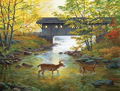 SunsOut Rock Creek Crossing Jigsaw Puzzle (500-Piece)