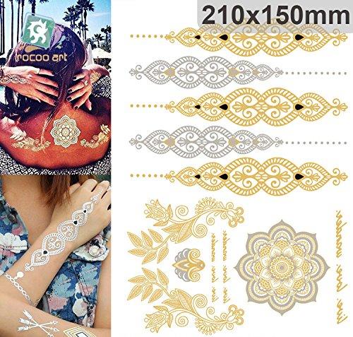 golden-metallic-gold-body-art-temporary-removable-tattoo-stickers-with-golden-pattern-3-sticker-tatt