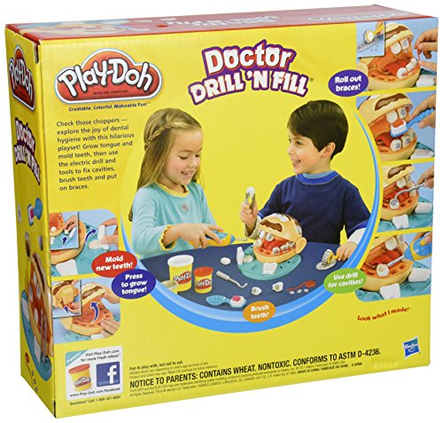 play doh doctor drill n fill best deals toys. Black Bedroom Furniture Sets. Home Design Ideas
