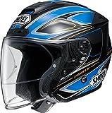 ショウエイ(SHOEI) バイクヘルメット ジェットJ-FORCE4 BRILLER(ブリエ) TC-2 (BLUE/BLACK) L(59cm)