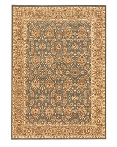 Royale Rug, Dark Khaki Grey/Light Brown, 5' 6 x 7' 10
