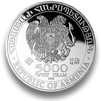 Silbermünze Arche Noah - prägefrisch - einzeln in Münzkapsel verpackt